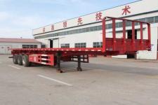 庄宇12.5米31.9吨3轴平板自卸半挂车(ZYC9400ZZXP)