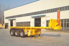 华鲁业兴8米29.7吨3轴平板自卸半挂车(HYX9370ZZXP)