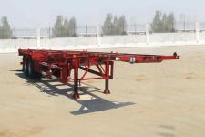 粱锋12.4米30.5吨2轴危险品罐箱骨架运输半挂车(LYL9351TWY)