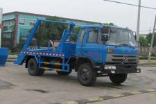 国五东风153摆臂式垃圾车厂家配置价格