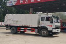 国五重汽对接自卸垃圾车