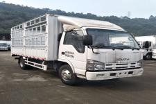 庆铃国五单桥仓栅式运输车98-131马力5吨以下(QL5040CCYA6HAJ)