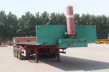庄宇8.5米31.5吨3轴平板自卸半挂车(ZYC9401ZZXP)