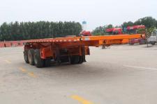 莊宇8.5米33噸3軸平板自卸半掛車(ZYC9402ZZXP)