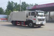 重汽斯太尔10-12方压缩式垃圾车