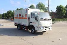 躍進國五3米易燃液體廂式運輸車