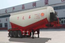 庄宇9.9米31.2吨3轴下灰半挂车(ZYC9402GXH)