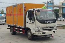 奥铃国五4米2易燃液体厢式运输车厂家直销价格最低