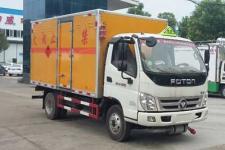 奥铃国五4米2易燃液体厢式运输车