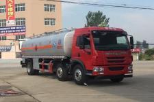 國五解放小三軸加油車
