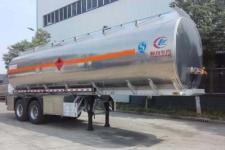 程力威9.8米29.5吨2轴铝合金运油半挂车(CLW9350GYYL)