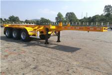 中集8.5米35.2吨3轴集装箱运输半挂车(ZJV9406TJZSZ)