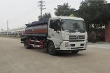 东风天锦国五腐蚀性物品罐式运输车价格