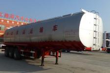 庄宇10.6米31吨3轴液态食品运输半挂车(ZYC9401GYS)