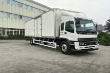 庆铃国五单桥厢式运输车205马力5-10吨(QL5180XXYVTFR1J)