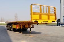 梁山宇翔10.5米31.5吨3轴平板自卸半挂车(YXM9401ZZXPC)