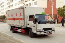 江铃国五4米2易燃气体厢式运输车价格