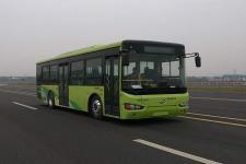 10.5米海格KLQ6109GAHEVC5K插电式混合动力城市客车