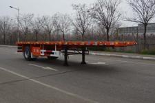 天骏德锦8.6米15.3吨1轴平板运输半挂车(TJV9180TPBH)