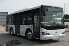 8.5米|14-28座海格插电式混合动力城市客车(KLQ6850GAHEVC5K)