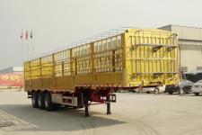 郓腾12米33吨3轴仓栅式运输半挂车(HJM9400CCYE)