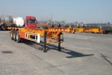 郓腾14米33.7吨3轴集装箱运输半挂车(HJM9403TJZE)