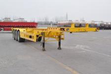 同强14米33.7吨3轴集装箱运输半挂车(LJL9400TJZE)