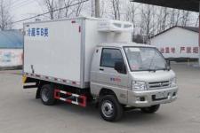 福田驭菱蓝牌冷藏车