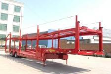 鲁嘉13.6米15吨2轴车辆运输半挂车(JSF9220TCL)