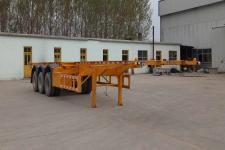 新欣鑫馨12.5米34.5吨3轴集装箱运输半挂车(LKD9400TJZ)