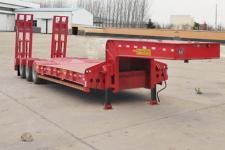 鸿盛业骏12.5米30吨3轴低平板半挂车(HSY9402TDP)