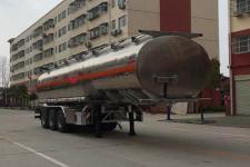 程力威11.3米33.2吨3轴铝合金运油半挂车(CLW9402GYYLV)
