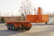 新宏東8米32噸3軸平板自卸半掛車(LHD9400ZZXP)