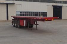 同強10米32.1噸3軸平板自卸半掛車(LJL9403ZZXP)