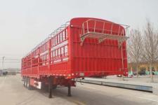 轩畅牌JFH9400CCYE型仓栅式运输半挂车图片