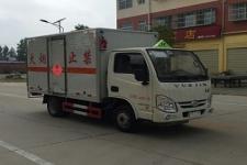 国五跃进易燃气体厢式运输车厂家直销价格最低