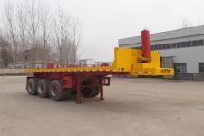 同强8.5米32.1吨3轴平板自卸半挂车(LJL9402ZZXP)