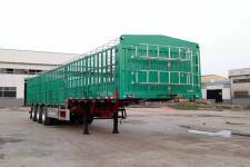 新欣鑫馨12米33.3吨3轴仓栅式运输半挂车(LKD9401CCYE)