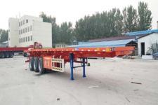 鲁际通12米32.6吨3轴平板自卸半挂车(LSJ9402ZZXP)