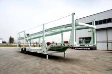 聚运达13米17.4吨2轴乘用车辆运输半挂车(LZY9251TCC)