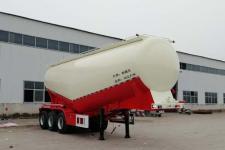 郓腾9.2米32.1吨3轴中密度粉粒物料运输半挂车(HJM9401GFL)