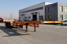 轩畅14米35.1吨3轴集装箱运输半挂车(JFH9400TJZED)