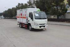 潤知星牌SCS5032XRYSH型易燃液體廂式運輸車