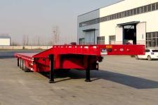 郓宇13米33.7吨3轴低平板半挂车(YJY9400TDP)