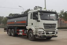 润知星牌SCS5250GFWSX型腐蚀性物品罐式运输车