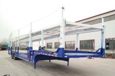 鲁嘉13.6米18.2吨2轴车辆运输半挂车(JSF9250TCL)