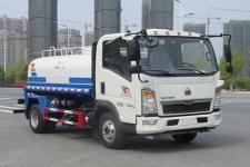 重汽豪沃5噸灑水車價格