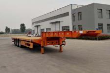 华鑫联合12.5米33.3吨3轴低平板半挂车(HXL9400TDP)