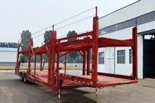 轩畅13.8米16.3吨2轴车辆运输半挂车(JFH9250TCL)