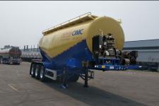 万事达9.1米33吨3轴下灰半挂车(SDW9404GXHA)